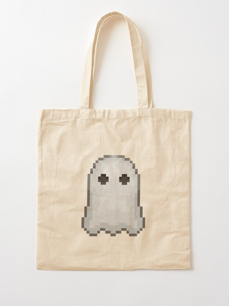 A spooky ghost on a bag!